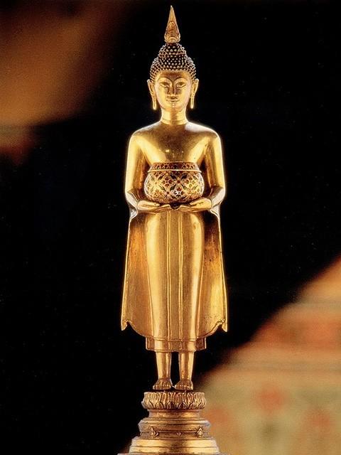 Buddha statue on brithday